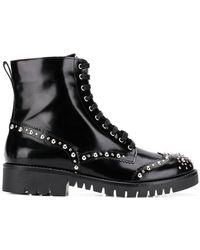 McQ - Bess Stud Derby Boots - Lyst