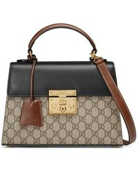 9264fa1bb Gucci Dionysus Leather Top Handle Bag in Green - Lyst