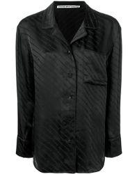 Alexander Wang - Monogram Pyjama Shirt - Lyst