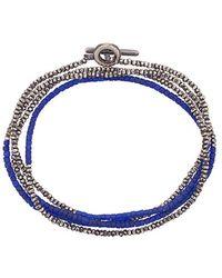 M. Cohen - Beaded Bracelet-necklace - Lyst