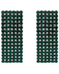 Alessandra Rich - Crystal-embellished Earrings - Lyst