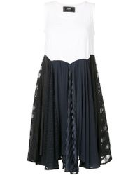 ANREALAGE - Panel Patchwork Dress - Lyst