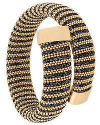 Carolina Bucci - Lurex Thread Wrapped Bracelet - Lyst