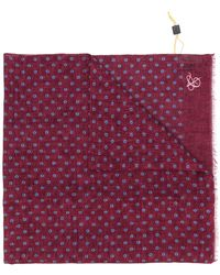 Canali - Spotted Scarf - Lyst