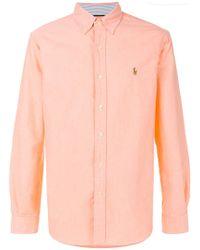 Ralph Lauren - Embroidered Logo Shirt - Lyst
