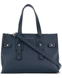 Orciani - Soft Navy Tote Bag - Lyst