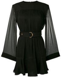 Chloé - Belted Draped Dress - Lyst