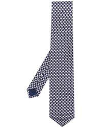 Ferragamo - Patterned Tie - Lyst