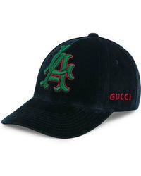 Gucci - Runway Baseball Hat With La Angelstm Patch - Lyst