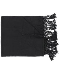 Twin Set - Fringe Embroidered Scarf - Lyst