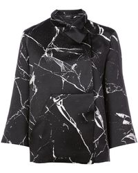 Akris - Marble Print Jacket - Lyst