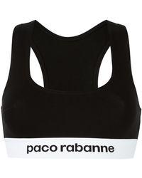 Paco Rabanne - Logo Bra - Lyst