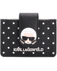 Karl Lagerfeld Polka Dots Wallet