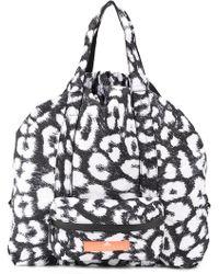 c823baab8c05 Lyst - adidas By Stella McCartney Shipshape Mesh Gym Bag in Pink