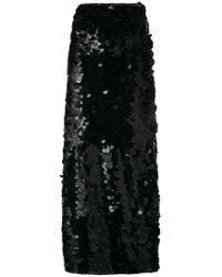 Natasha Zinko - Sequined Skirt - Lyst