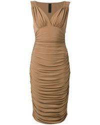 Tara bodycon dress - Nude & Neutrals Norma Kamali x2U1jSLBnP