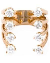 Delfina Delettrez - Diamond 'dots' Ring - Lyst