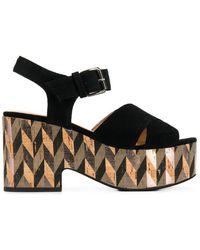 Strategia - Susy Platform Sandals - Lyst