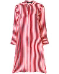 FEDERICA TOSI - Striped Midi Dress - Lyst