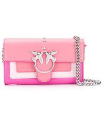 Pinko - Coral Pink Shoulder Bag - Lyst