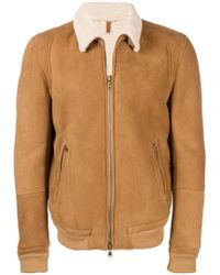 Mauro Grifoni - Shearling Lined Jacket - Lyst
