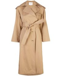 Vince - Belted Trench Coat - Lyst