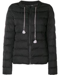 Love Moschino - Zipped Padded Jacket - Lyst