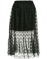 Three Floor - Lace Skirt - Lyst