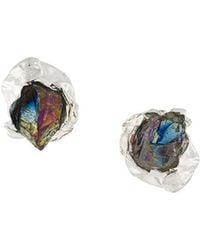 Niza Huang - Crush Stone Stud Earrings - Lyst
