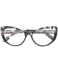 Dolce & Gabbana - Lace Cat-eye Glasses - Lyst