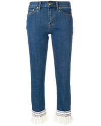Tory Burch - Cropped Connor Jeans - Lyst
