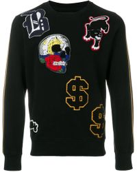 Hydrogen - Patch Applique Sweater - Lyst