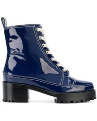 Nicole Saldaña - Platform Combat Boots - Lyst