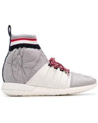 Moncler - Knit Sock Trainers - Lyst