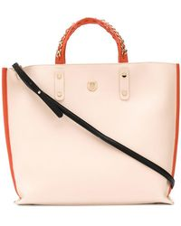 Tommy Hilfiger - Chain Strap Tote - Lyst