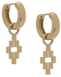 Marcelo Burlon - Cross Earrings - Lyst