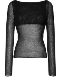 Dion Lee - Crepe Knit Sweater - Lyst