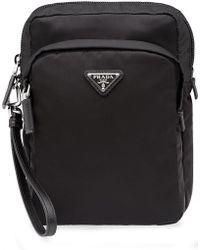 Prada - Saffiano Messenger Bag - Lyst