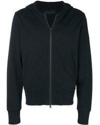 Ann Demeulemeester - Zipped Hooded Jacket - Lyst