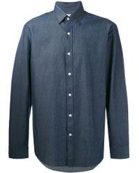 Hardy Amies - Denim Twill Shirt - Lyst