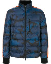 Valentino - Camouflage Padded Coat - Lyst