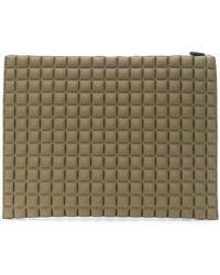 NO KA 'OI - Large Textured Clutch Bag - Lyst