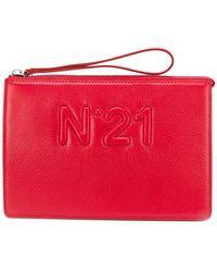 N°21 | Logo Clutch Bag | Lyst