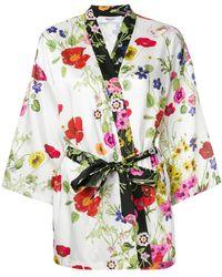 Blugirl Blumarine - Floral Print Kimono - Lyst