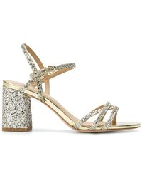 Ash - Glitter Ankle Sandals - Lyst