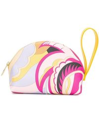Emilio Pucci - Pink Acapulco Print Cosmetic Pouch - Lyst