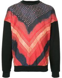 Yoshiokubo - Shibori Printed Sweatshirt - Lyst