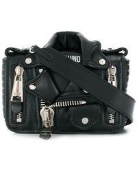 Moschino - Small Biker Shoulder Bag - Lyst