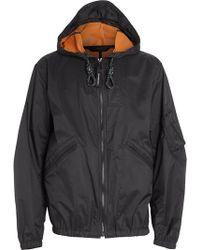 Burberry - Hooded Windbreaker Jacket - Lyst