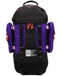ce5d21319cf Lyst - adidas Pharrell Williams Hu Hiking Backpack in Black for Men
